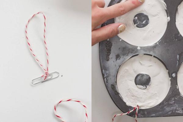 DIY: novogodišnji ukrasi u obliku krofnica
