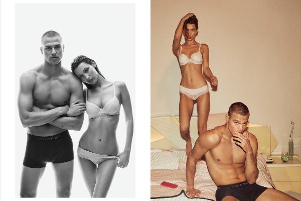 Naomi Kembel, Bela Hadid i druge zvezde u novoj kampanji Calvin Klein