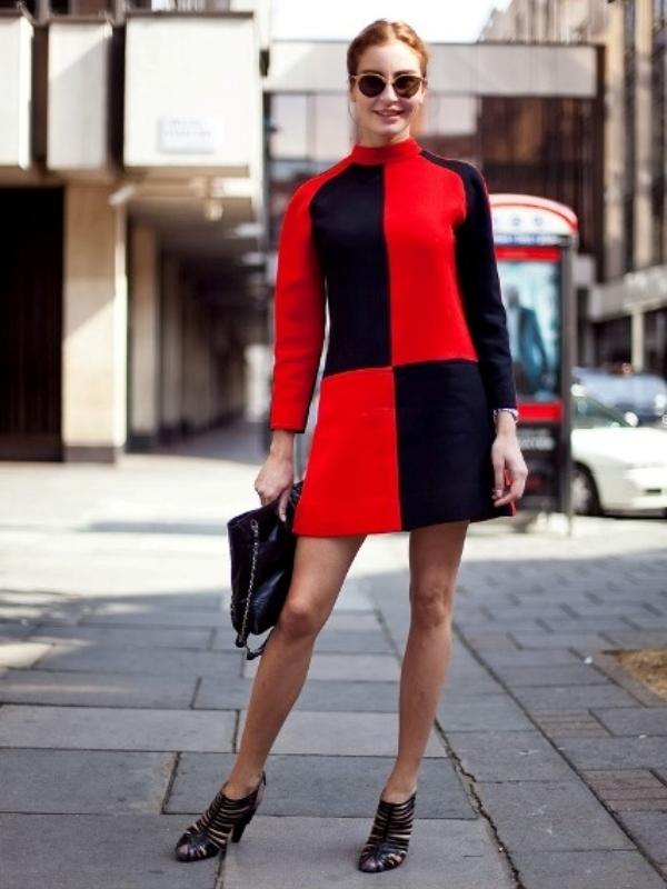 20 upečatljivih i odvažnih Color Block haljina