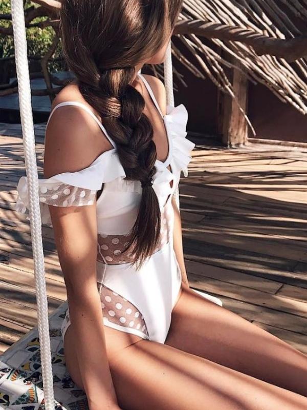 Neodoljivi beli kupaći kostimi