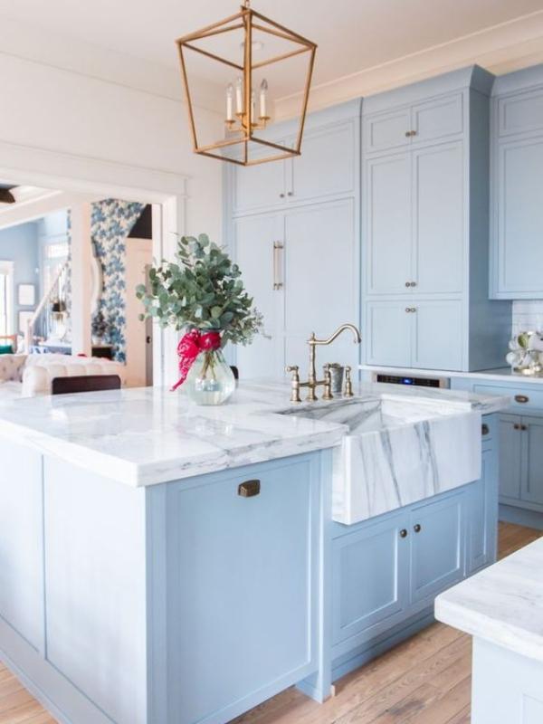 30 impresivnih plavih kuhinja koje će vas zadiviti