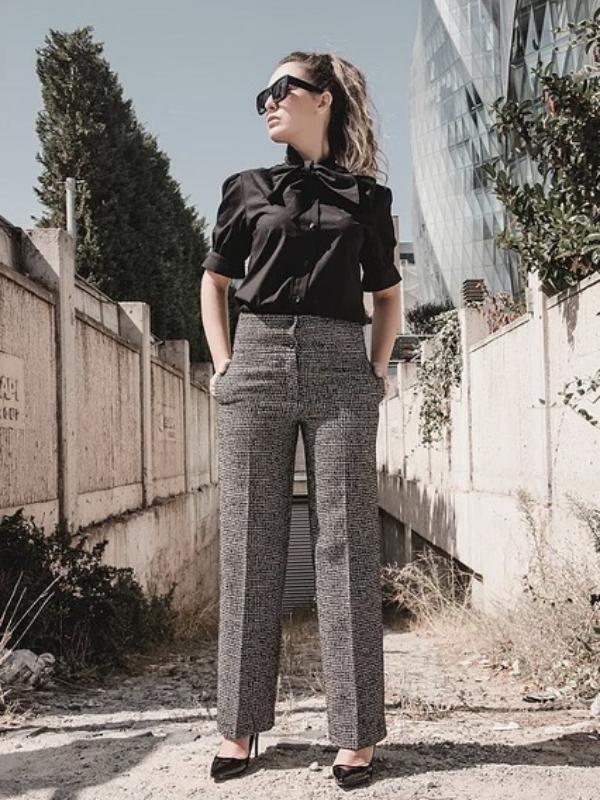 Detalj koji vam nedostaje ove jeseni – pantalone od tvida visokog struka