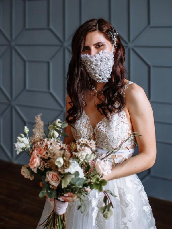 Stilske maske za lice namenjene budućim nevestama
