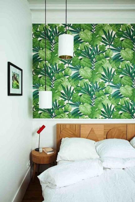 Tapete sa botaničkim otiskom savršene za prolećni dekor doma