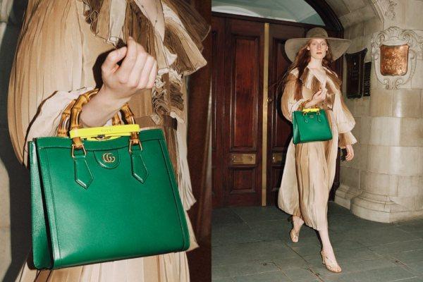 Gucci ponovo objavljuje klasičnu torbu Diana iz 90-ih