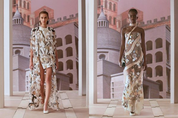 Kejt Mos i Kristi Tarlington predstavljaju novu kolekciju Fendi Couture