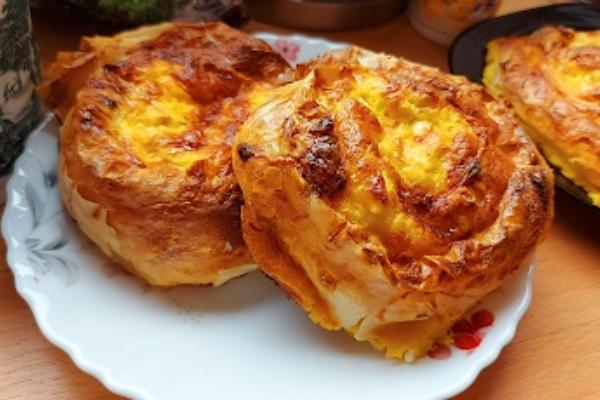 Bakina kuhinja - preliveni pužići