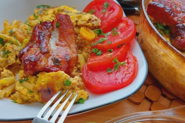 Bakina kuhinja - musaka od boranije
