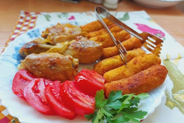 Bakina kuhinja - kroketi od krompira