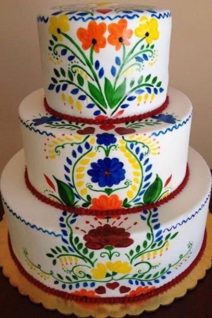 Vesele šarene meksičke torte za venčanje iz vaših snova
