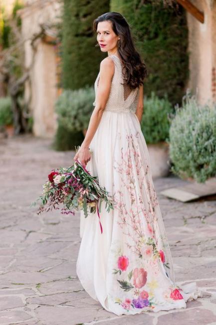 Inspirativne venčanice za letnje venčanje u svim bojama duge
