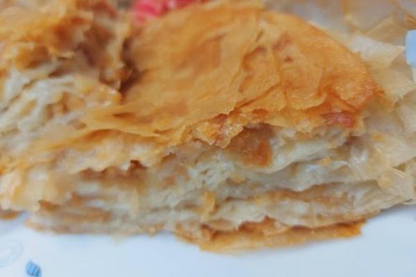 Bakina kuhinja - burek-pita sa jabukama