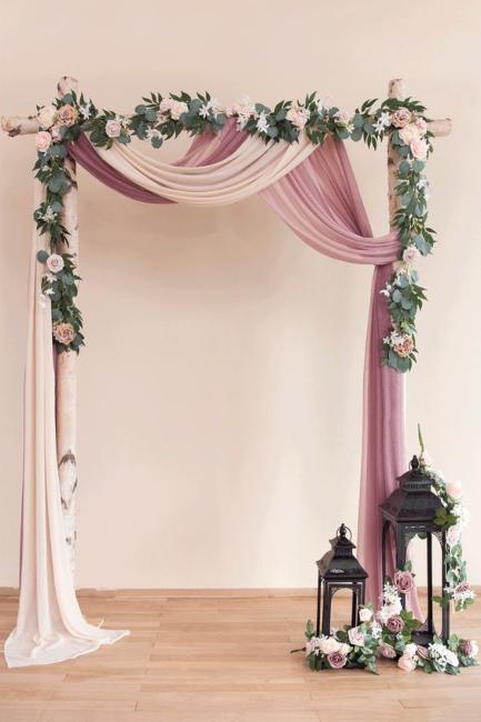 Moderne svadbene dekoracije za VAU efekat