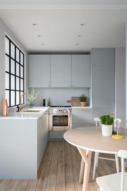 Kreiranje kuhinje u obliku slova L