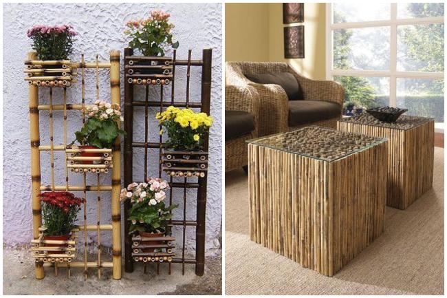 Nameštaj i dekor od bambusa koji će osvežiti vaš dom