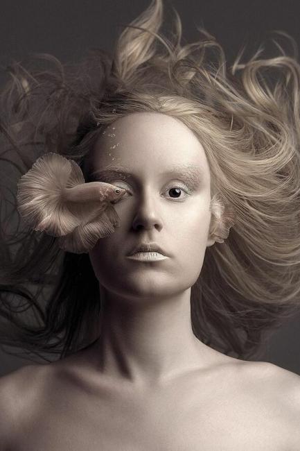 Umetničke fotografije koje zalaze u sferu bizarnosti koja se prepliće sa lepotom