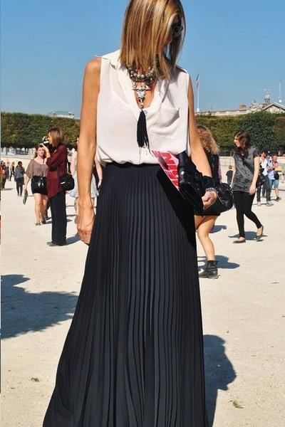 Kako nositi maxi suknju & izgledati fantastično