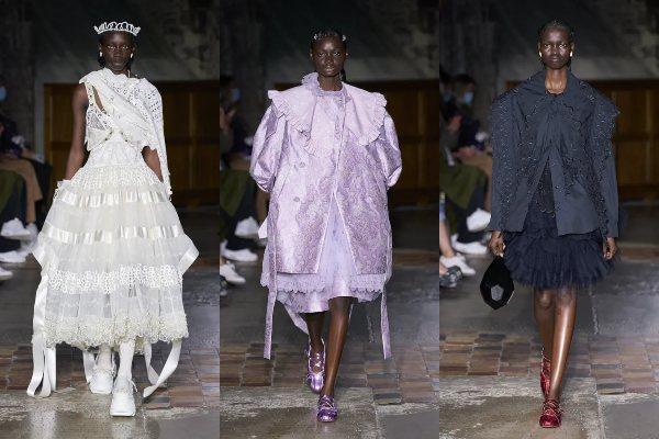 """Princeze Simone Rocha u novoj kolekciji """"naoružane"""" su lakiranim kožnim jaknama i grubim čizmama"""