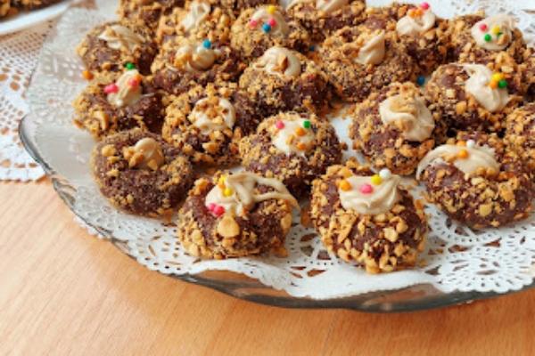 Bakina kuhinja - punjena čokoladna gnezda
